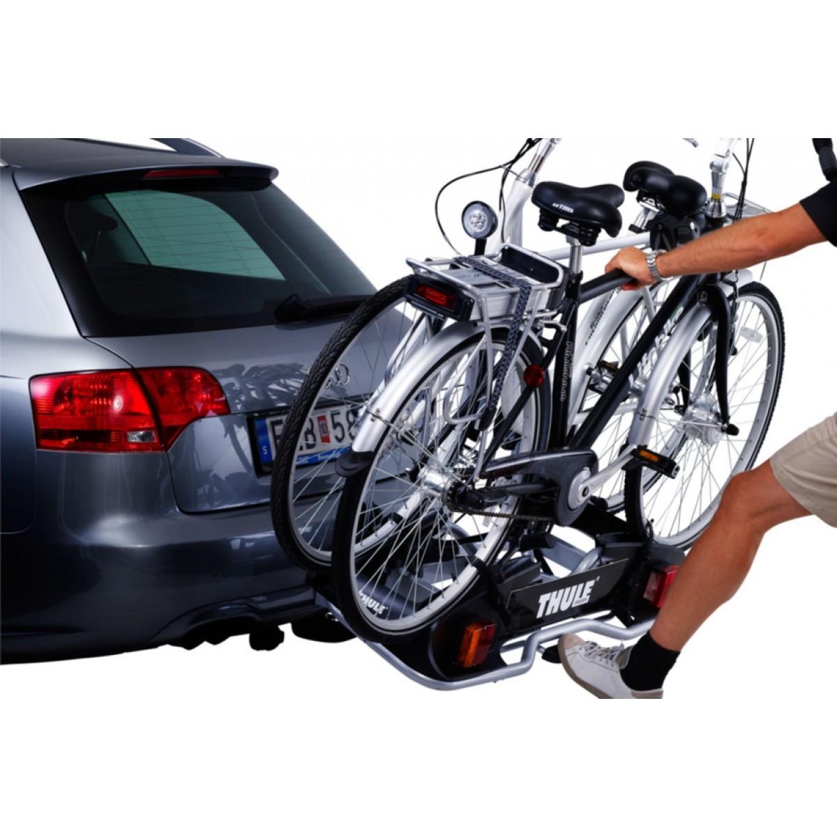 suporte p 2 bikes de engate europower 916d thule elitextreme. Black Bedroom Furniture Sets. Home Design Ideas